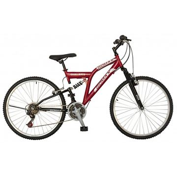 GOMAX 26 RACE ONE ÇiFT AMORTISORLU Bisiklet