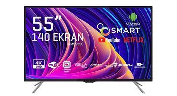 Resim NORDMENDE 55 NM 350 4K SMART UYDULU SLİM LED TV